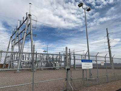 GridLiance's 230-kV Sloan Canyon Switching Station and transmission upgrades enable significant expansion of  renewable energy growth in Southwest Nevada.