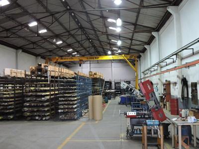 Entrepôt d'Iteco S.A. à Cali, en Colombie