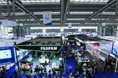 Pavilhão 1 da CHTF 2019 (PRNewsfoto/China Hi-Tech Fair Organizing C)