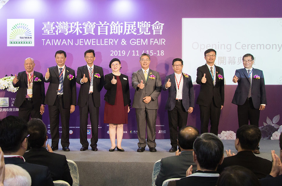 Taiwan Jewellery & Gem Fair 2019 is highly satisfied commented by the combination of industry and official.