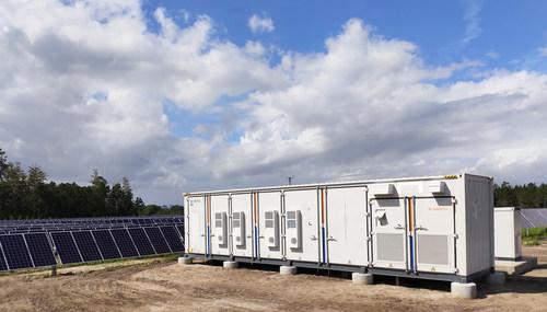 9MW/3.836MWh solar plus storage project in Jacksonville, Florida