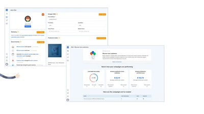 Shopper profile that Pathfinder creates / Dashboard to track performance
