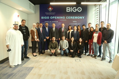 H.E. Mothanna Gharaibeh Inaugurates BIGO Technology's Amman Office, Opening Doors to AI and More Employment Opportunities