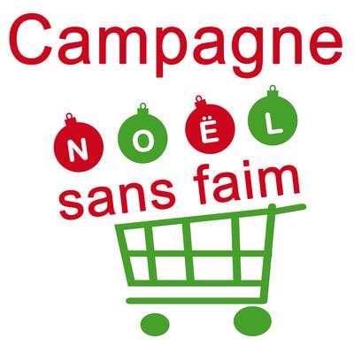 Logo Campagne Noël sans faim (Groupe CNW/Cégep Saint-Jean-sur-Richelieu)