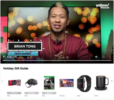 eBay and Verizon Media will roll out a series of videos featuring influencers like tech and gaming expert Brian Tong and reality TV star Tanner Tolbert to highlight the marketplace's products across lifestyle, tech and sports.