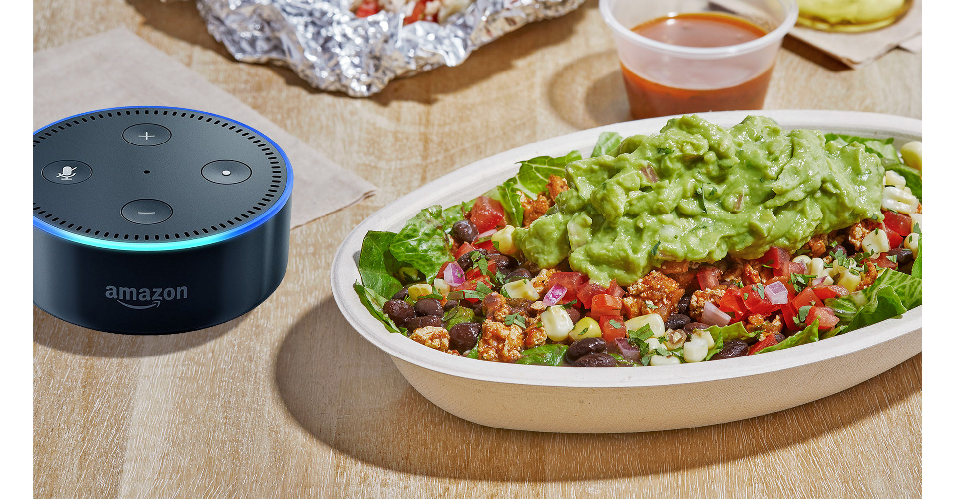Chipotle Announces Alexa Reordering Skill By Giving Away Echo Dots To Rewards Members Named Alexa