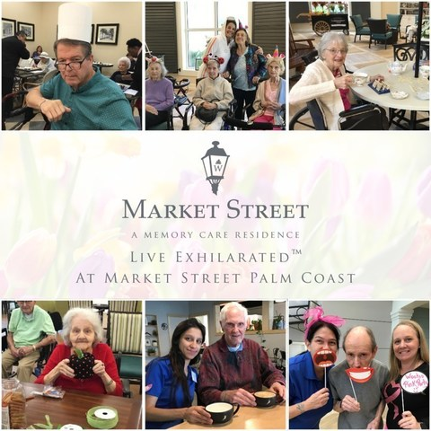 Residents at Market Street Memory Care Palm Coast are engaging in the seven facets of wholeness as part of Watercrest Senior Living's newly launched 'Live Exhilarated' program.