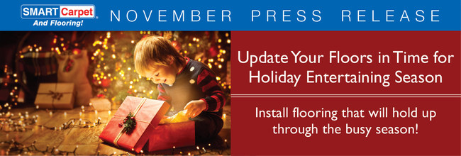 Update your floors in time for holiday entertaining season!