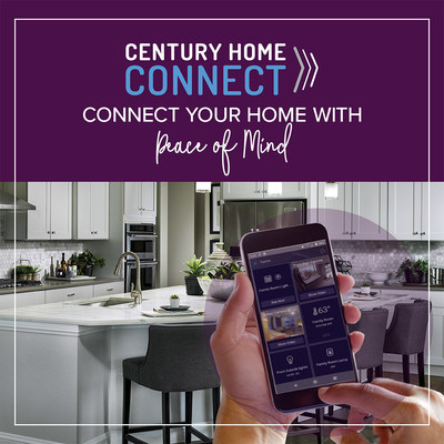 Century Home Connect: smart home package by Century Communities with one-app control available