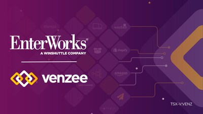 EnterWorks and Venzee Technologies Announce Partnership (CNW Group/Venzee Technologies Inc.)