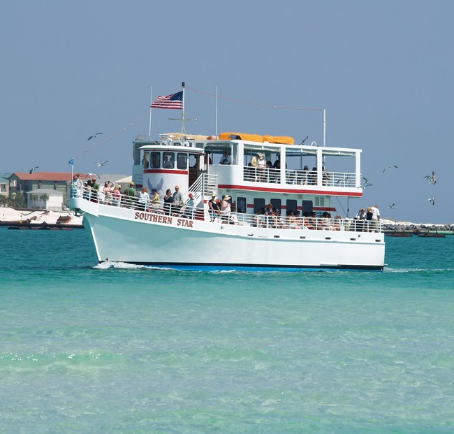 Southern Star Dolphin Cruise celebrates 25 Years and numerous awards and recognitions. It is the most awarded dolphin cruise in the United States and maintains an excellent level of safety from the United States Coast Guard.