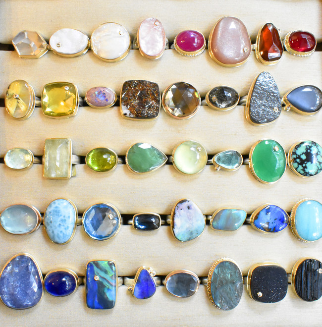 Eliza Page One-of-a-Kind 15 Year Anniversary Jewelry