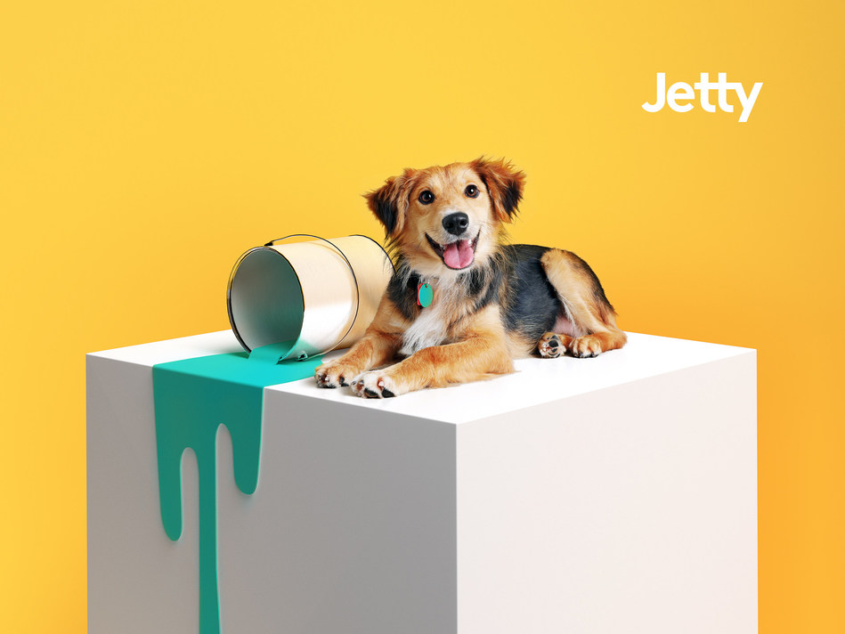 Jetty Pet can give properties increased coverage against pet-related damages–while keeping move-in costs low for the renter. (PRNewsfoto/Jetty)