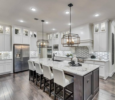 Adding a backsplash is the perfect way to accessorize your kitchen.