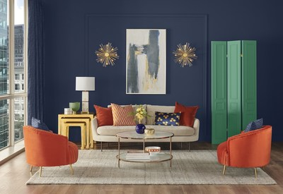 Sherwin-Williams, the exclusive paint vendor of Taylor Morrison, recently revealed its 2020 Color of the Year: Naval SW 6244.