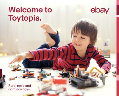 To help shoppers with a little inspiration timed to the peak cyber shopping period, eBay will also release a digital toy book next week bursting with a broad selection of rare, retro and right now toys.