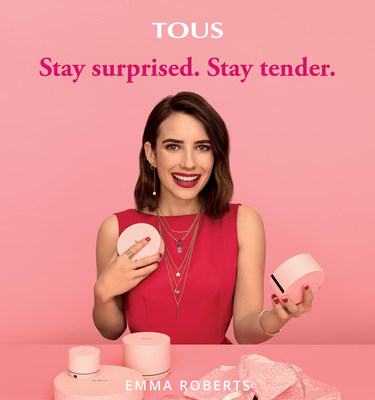 TOUS Launches New Campaign With Emma Roberts