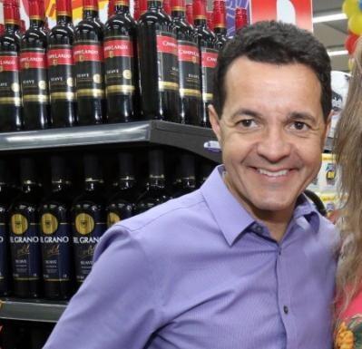 Waldir Rocha Pena é um dos sócios da rede Supermercados BH