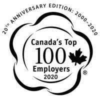 Canada's Top 100 Employers 2020 (CNW Group/Mediacorp Canada Inc.)
