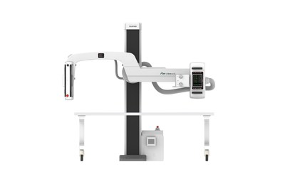 FDR Clinica U*, a compact, single digital radiography (DR) detector u-arm system, with versatile positioning, ideal for outpatient, private practices and small imaging facilities.