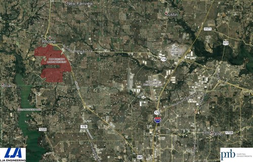 PMB Capital Announces Purchase Of 3,400 Acres For Large-Scale Residential And Commercial Development In North Texas