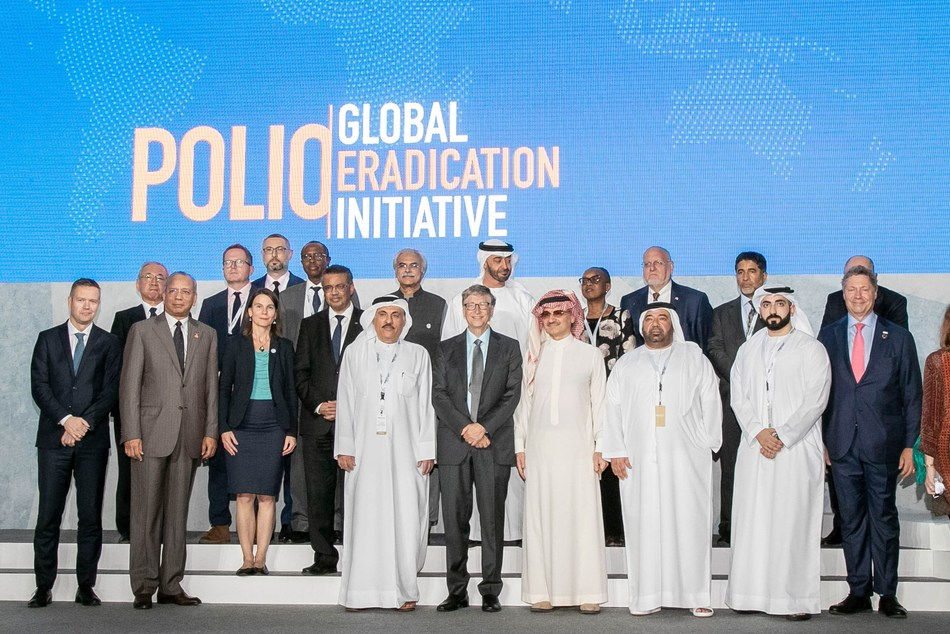 His Royal Highness Prince Alwaleed Bin Talal AlSaud, Chairman of Alwaleed Philanthropies, joined Bill Gates and leading figures from the international community at the Reaching the Last Mile forum in Abu Dhabi