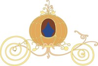 Pumpkin Coach Invites