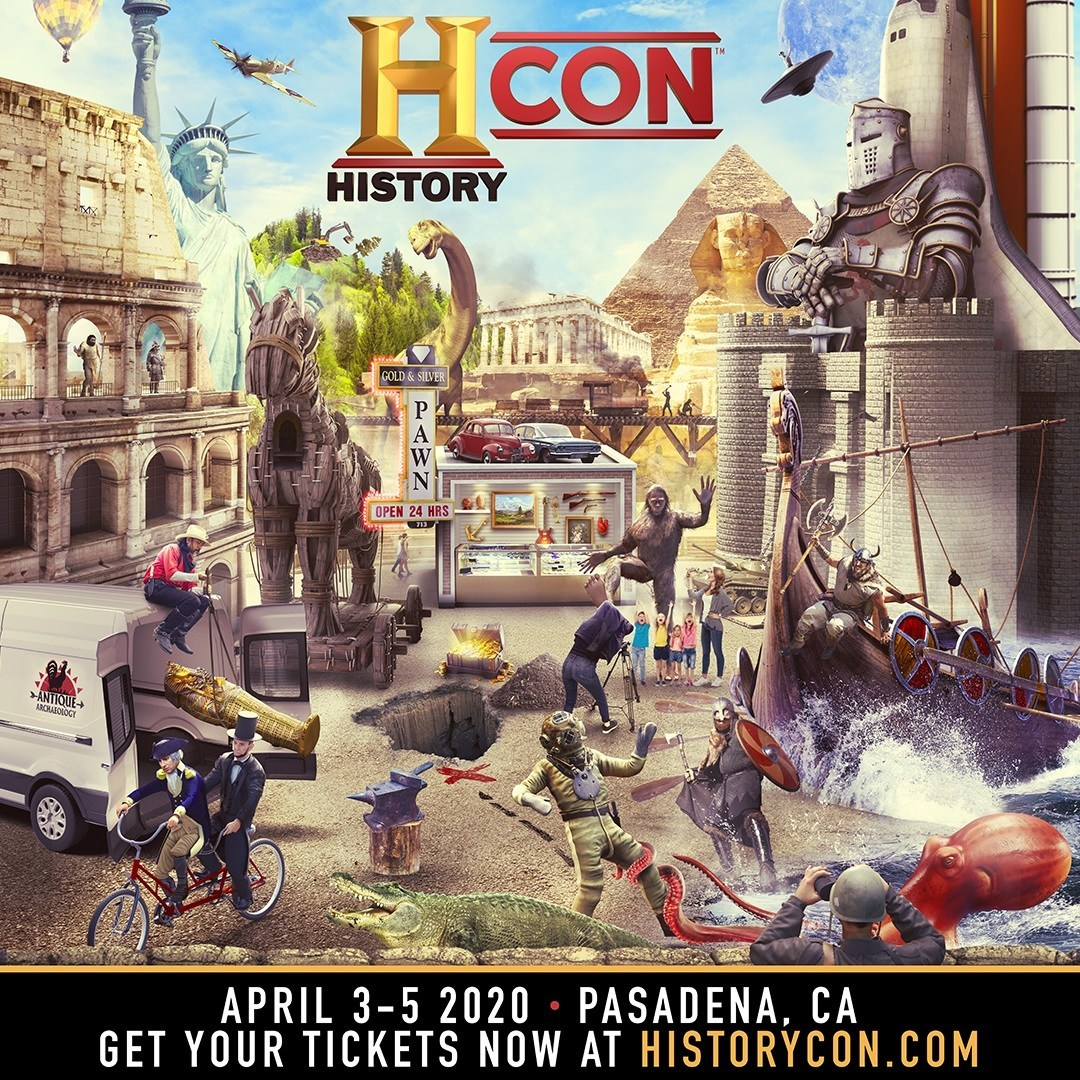 Games For Gold April 2020.Historycon Launches April 3 5 2020 At Pasadena Convention