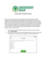 Greenery Map Launches 'Menu Mode,' a Tablet-Friendly Menu Hosting Platform for Marijuana Dispensaries