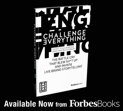 "Scott Cullather Releases ""Challenge Everything"" with ForbesBooks"