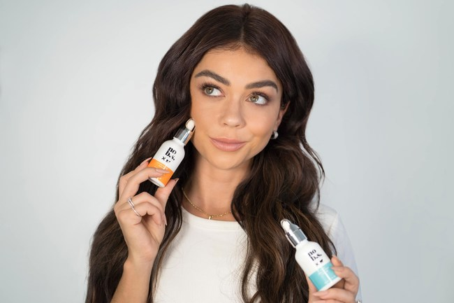 Sarah Hyland and No B.S. Skincare