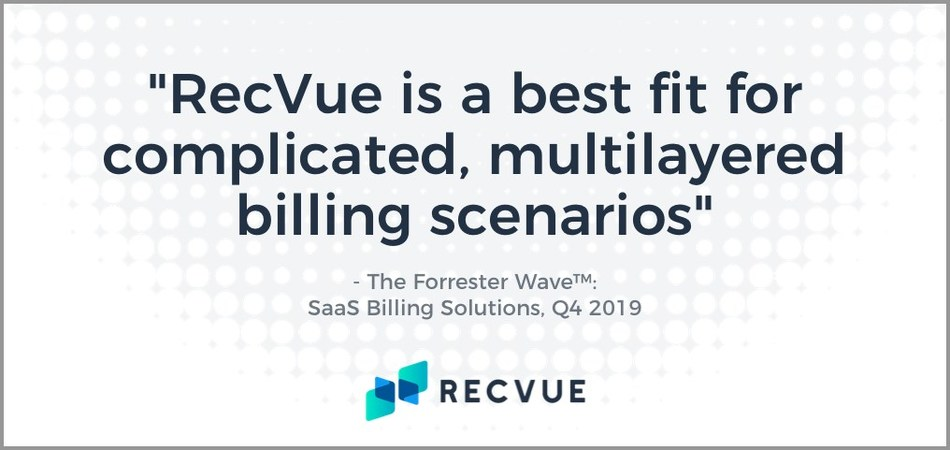 Forrester Research: The Forrester Wave™: SaaS Billing Solutions, Q4 2019