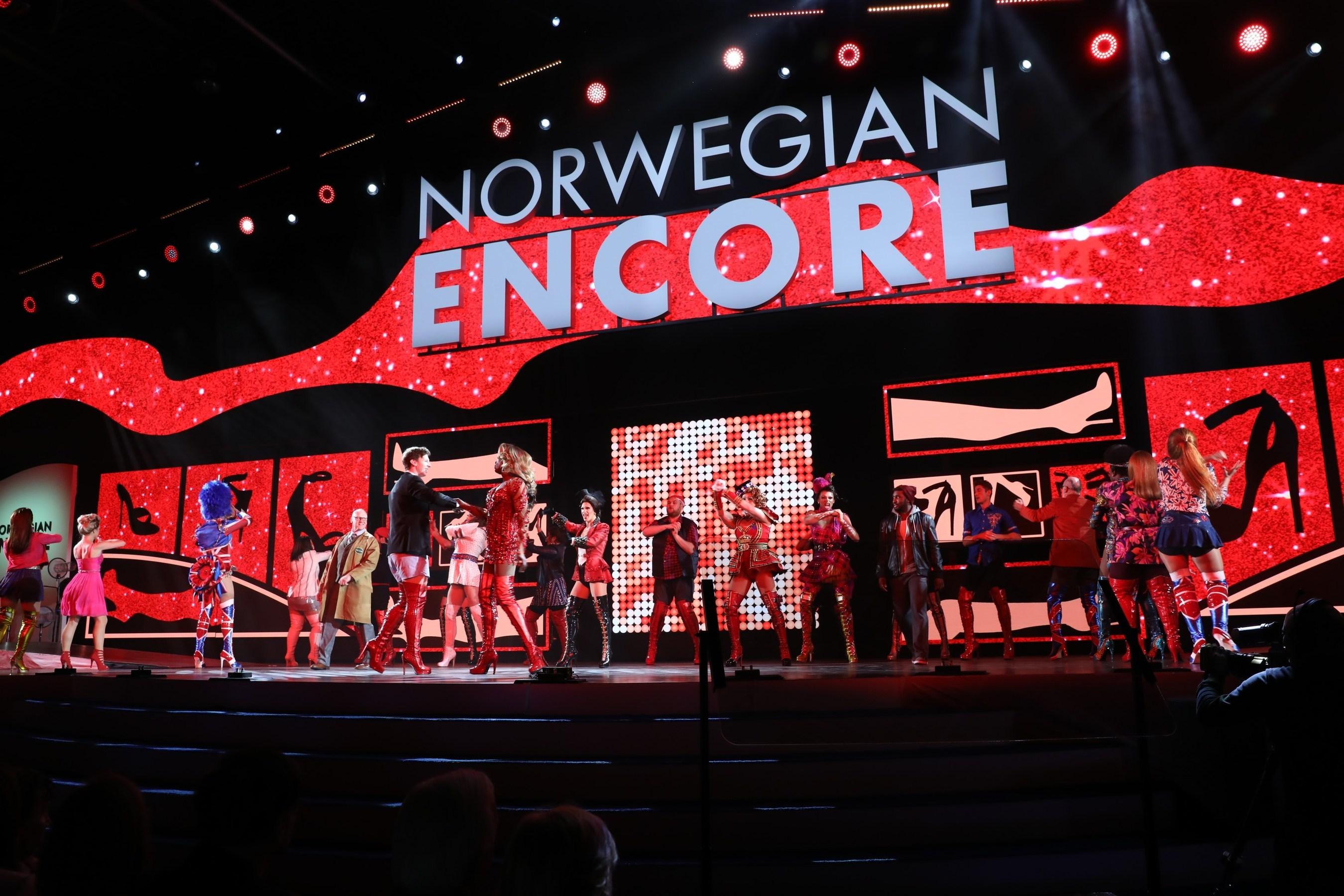 Norwegian Cruise Line Christens Newest Innovative Ship
