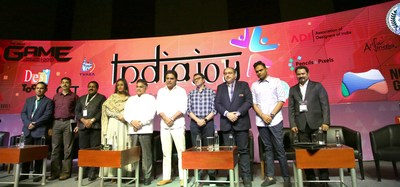 Inaugurating IndiaJoy, Shri. KTR, IT & MU&D Minister Government of Telangana