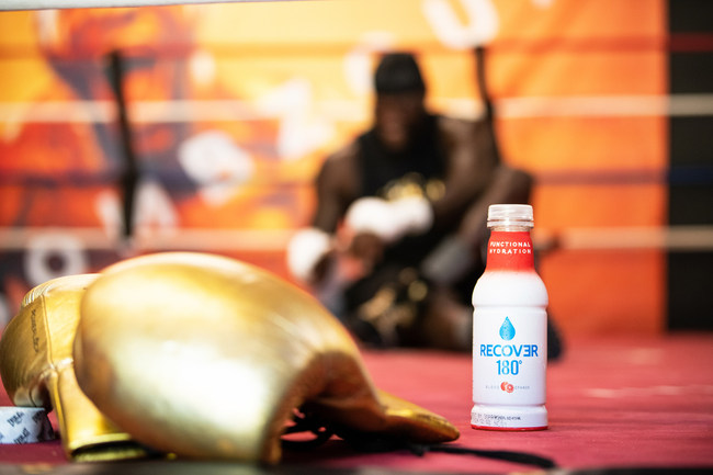 Deontay Wilder Partners With RECOVƎR 180°