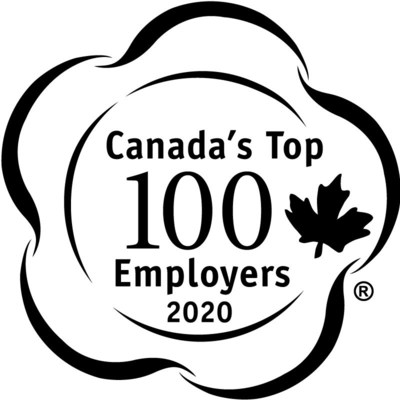 Mattamy Homes has been recognized as one of Canada's Top 100 Employers for the second year in a row. (CNW Group/Mattamy Homes Limited)