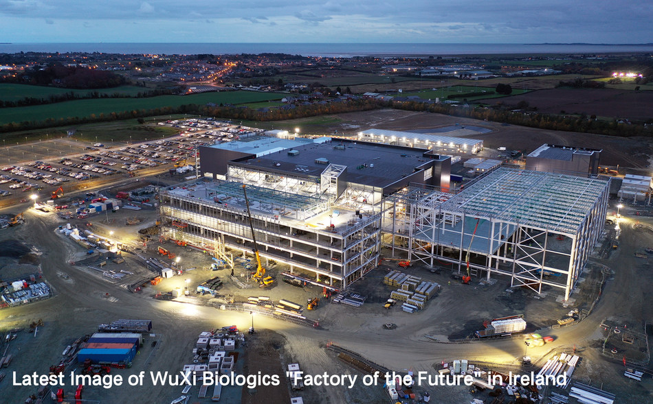 Latest Image of WuXi Biologics Factory of the Future in Ireland