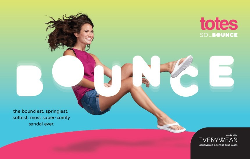 New totes Sol Bounce with Everywhere technology