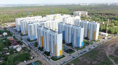 "City of Voronezh . Residential areas in Russia was built in eight month by Formator technologies with the help of Russian "" Red Machines""."