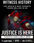 The Washington Justice and Overwatch League Come to DC in 2020 for Five Homestand Weekends