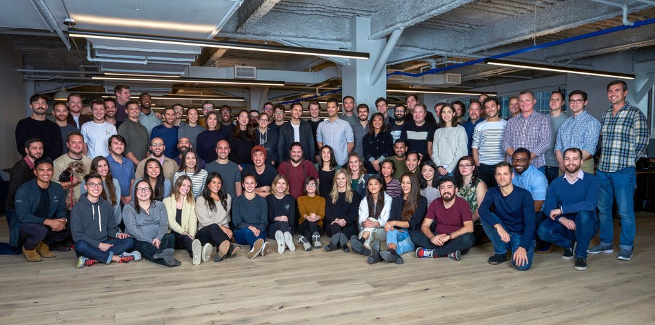The Frame.io team at the company's NYC headquarters.