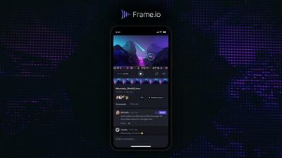 Apple Design Award-winning Frame.io iOS App