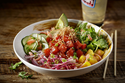 Jack Astor's Tuna Poké Bowl (CNW Group/SIR Corp.)