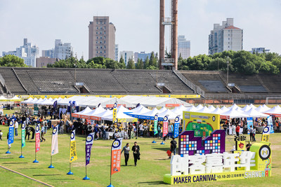The 8th Maker Carnival Shanghai has become China's largest annual maker party.