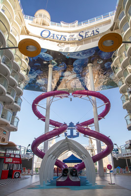 The all-new Oasis of the Seas brings the heart-pumping addition of the Ultimate Abyss, a 10-story test of courage and the tallest slide at sea.