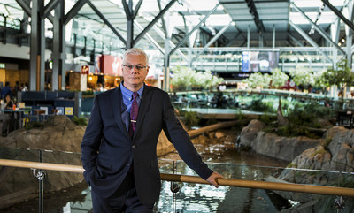 Vancouver Airport Authority today announced that Craig Richmond, President & CEO, has advised the Board of Directors of his plans to retire from YVR on June 30, 2020 after seven years leading the organization. (CNW Group/Vancouver Airport Authority)