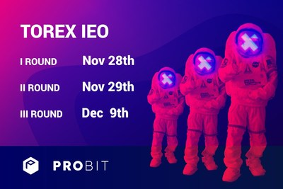 Torex IEO starts on November 28th