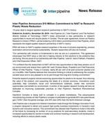IPL NAIT Partnership (CNW Group/Inter Pipeline Ltd.)