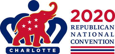 2020 Republican National Convention Official Logo (PRNewsfoto/2020 Republican National Conven)