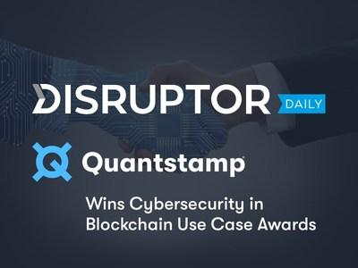 Quantstamp ganha Prêmio de Caso de Uso em Segurança Cibernética em Blockchain